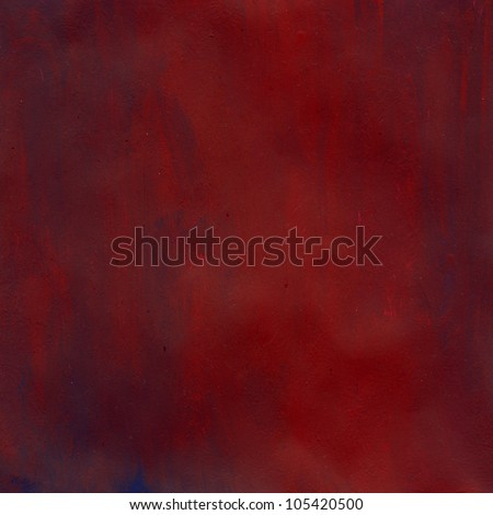 Red Paint Water Color Paper Texture Background Scrapbooking - stock photo
