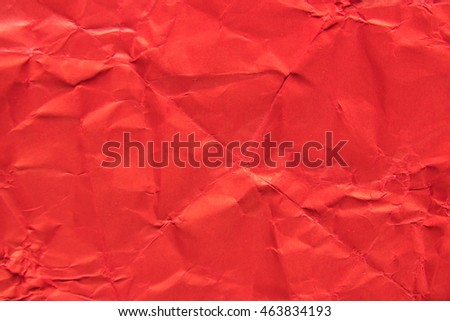 Red paper abstract texture background