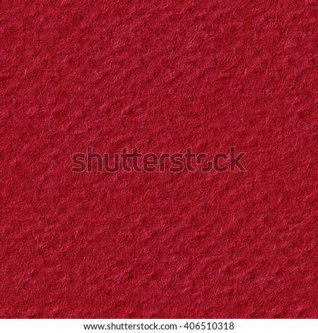 Red paper as a texture or background. Seamless square texture. Tile ready. Tile ready. - stock photo