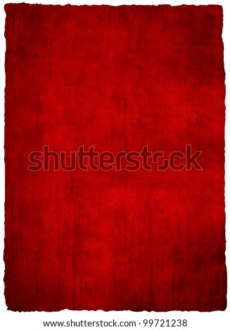 red papyrus paper texture - stock photo