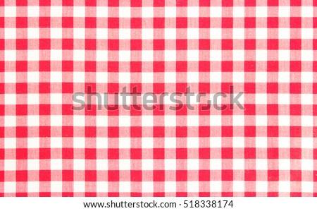 Red Picnic Cloth Pattern Wallpaper Background.Kitchen Menu Backdrop.Retro  Fabric Surface Transparent.