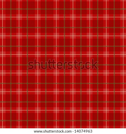 Red plaid paper