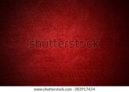 Red Poker table background - stock photo