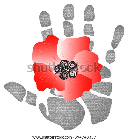 Red poppy flowers ornamental plants symbol stock illustration red poppy flowers are ornamental plants and a symbol of sleep peace blood mightylinksfo