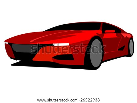 red race car prototype
