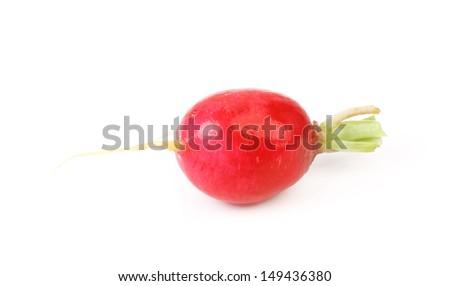Red radish. - stock photo