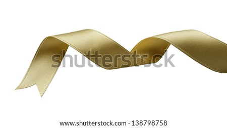 red ribbon - stock photo