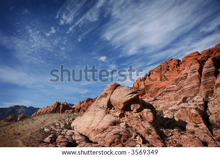 Red Rock Canyon National Conservation Area, Las Vegas, Nevada