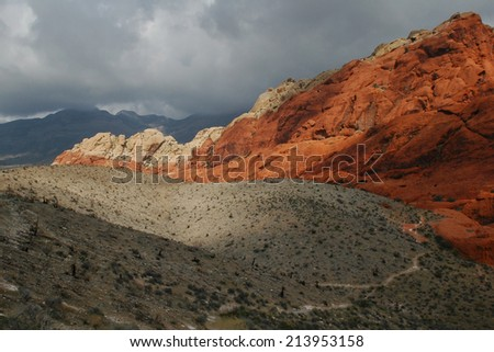 Red Rock Canyon NV 2 - stock photo