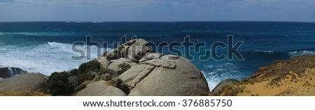 Red rock, D'Entrecasteaux National Park, Western Australia