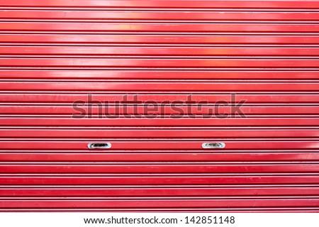 """Steel Garage Door Texture rolling garage door"""" stock photos, royalty-free images & vectors"""