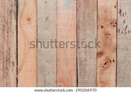 Red rose on wooden background with copy space - stock photo
