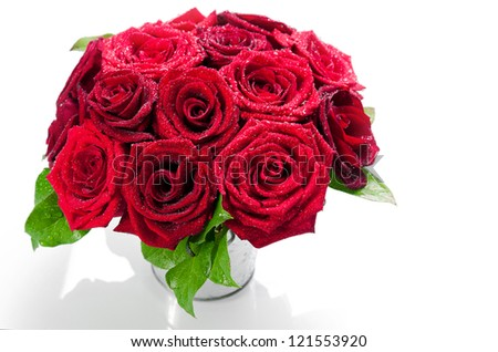 Dozen roses Stock Photos, Illustrations, and Vector Art