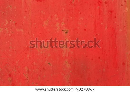 Red rusty background - stock photo