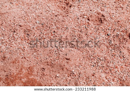 Red sand backgrounds - stock photo