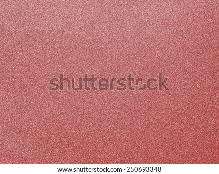 Red sandpaper texture background - stock photo