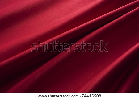 red satin - stock photo