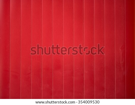 red shining metal texture figure of corrugated glazed background - stock photo