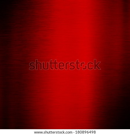 red shiny metal surface, abstract background. - stock photo