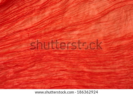 red silk texture - stock photo