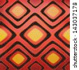 red snake leather background - stock