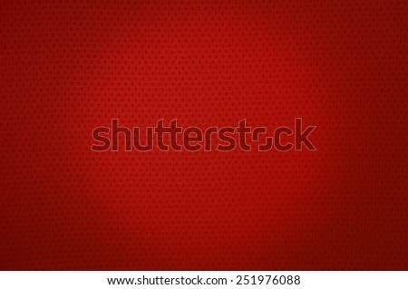 Red sport mesh clothes texture and background - stock photo