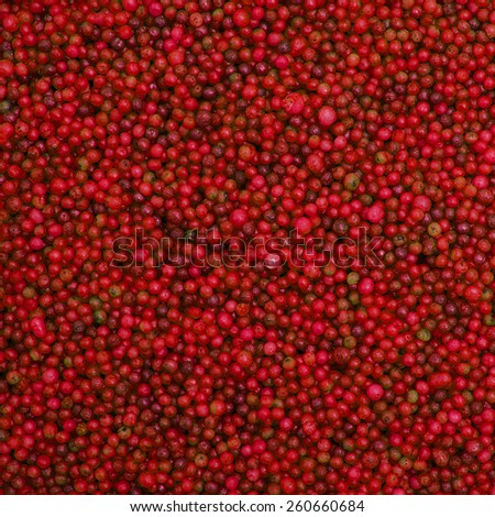 Red sprinkles background - stock photo