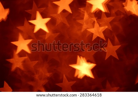 red star shape holiday photo as background - stock photo