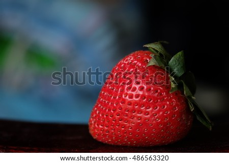 Red stawberry