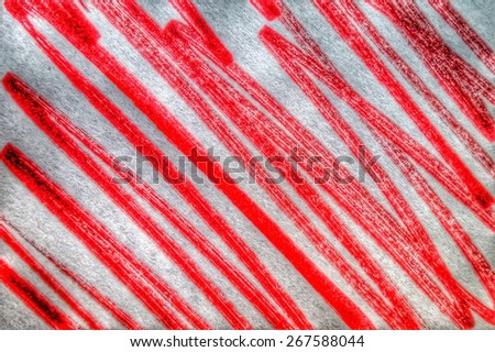 red striped paper - stock photo