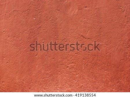 red stucco texture - stock photo