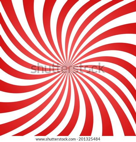 Red summer twisted ray pattern background - jpg version - stock photo