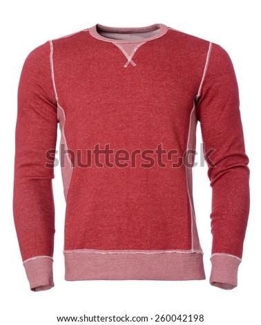 Red sweatshirt - stock photo