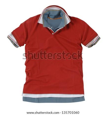 red t-shirt - stock photo
