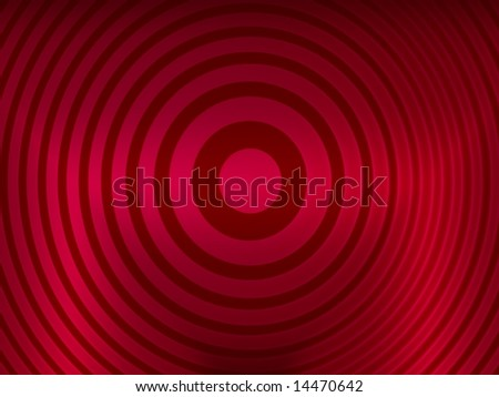 red target - stock photo