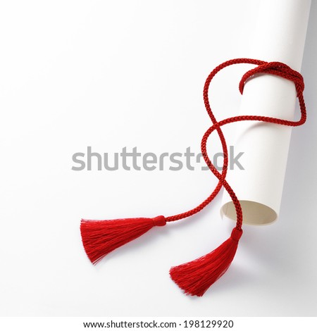 red tassel - stock photo