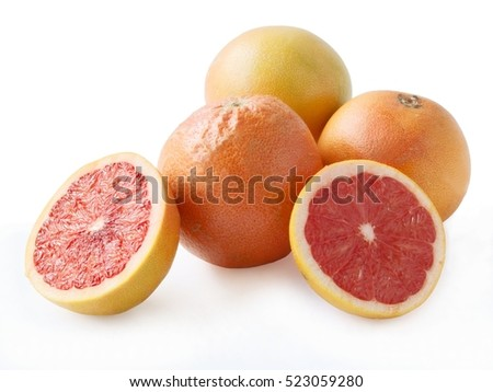 red tasty and juicy  grapefruit