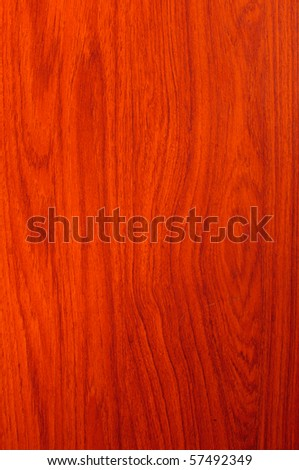Red teak wood texture - stock photo