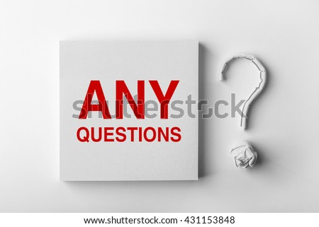 Any Questions Stock Images, Royalty-Free Images & Vectors ...