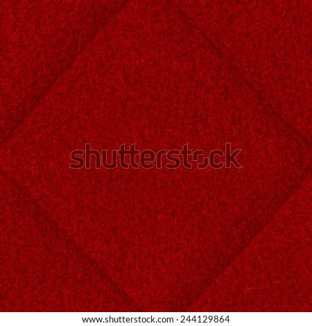 red textile  background, seams