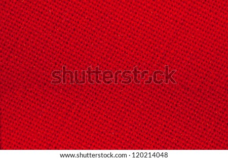 red texture fabric - stock photo