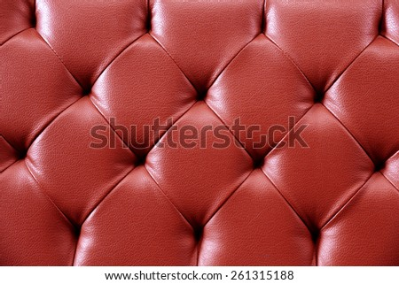 Red Texture Leather for background. Repeat pattern - stock photo