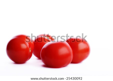 Red tomatos - stock photo
