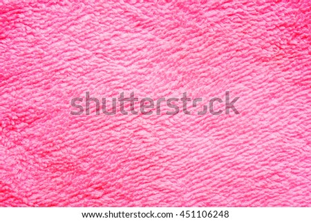 red towel textured background - stock photo