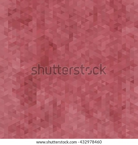 red triangle background - stock photo