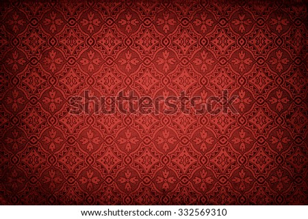 red wallpaper background. perfect for christmas. - stock photo
