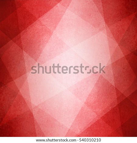 red white and pink background with abstract layer pattern, triangles diamonds and squares in random diagonal stripes that make block pattern