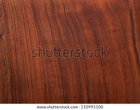 Red wood pattern of the surface