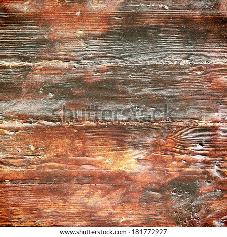 Red wooden board background