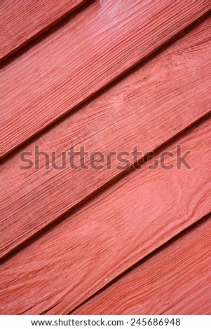 Red wooden texture pattern background. - stock photo